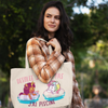 Collection tote bag licorne coton bio