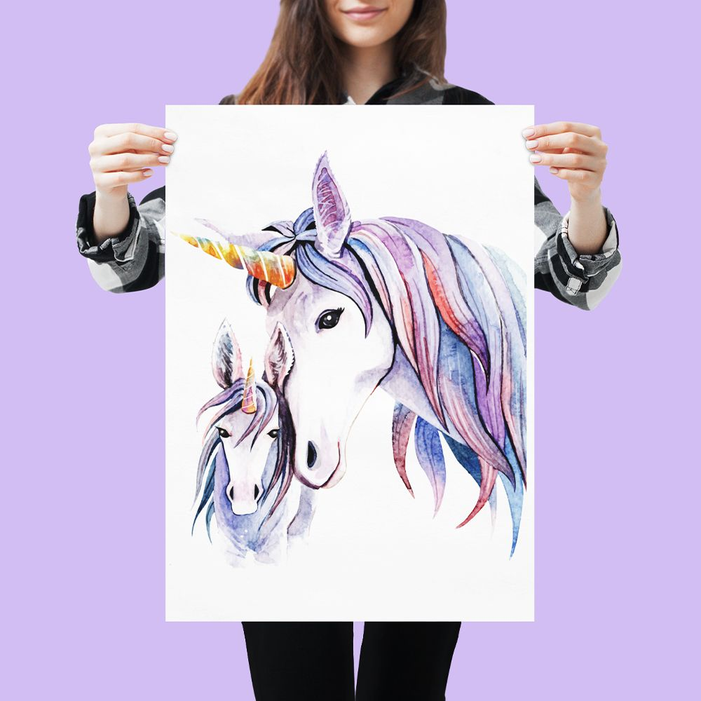 Collection posters licorne