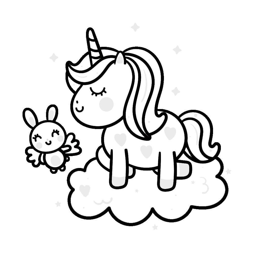 Coloriages Licorne A Imprimer Gratuits Magic Licorne