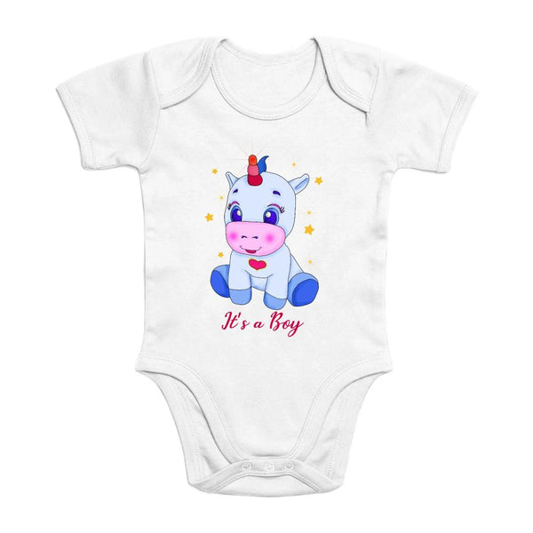 Body Licorne It's a Girl coton bio
