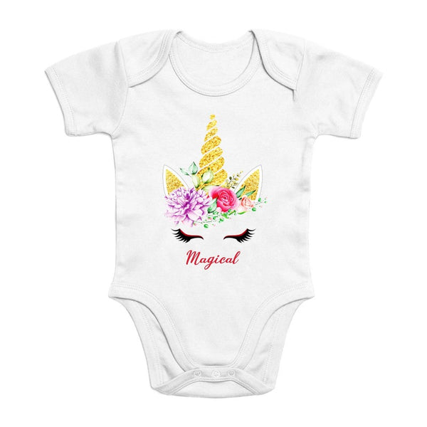 Body licorne magical coton bio