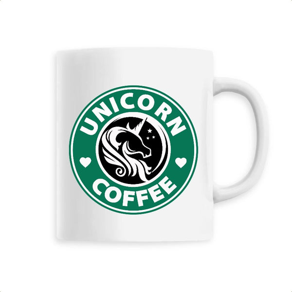 mug licorne unicorn coffee blanc