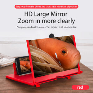 12 inch 3D Mobile Phone Screen Magnifier Stand