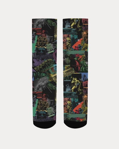 Cali Roots Riddim Collection Unisex Socks