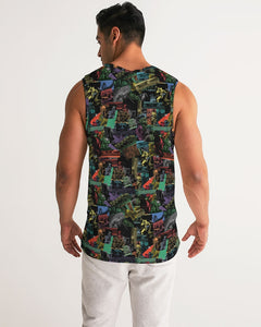 Cali Roots Riddim Collection Men's Sports Tank