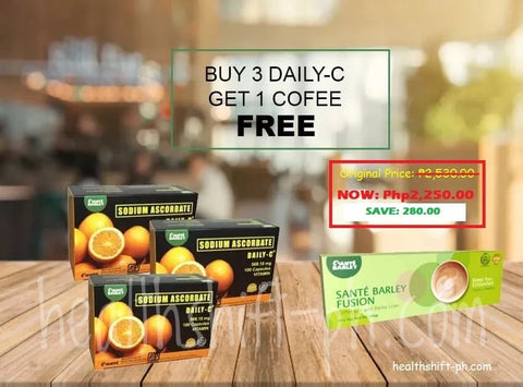 Buy 3 plus 1 Box Fusion Coffee
