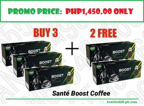 Buy 3+2 Boxes Boost Coffee