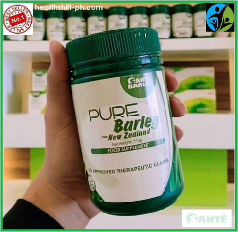 Sante Pure Barley Canister 110g