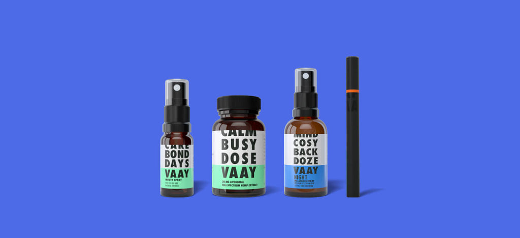 VAAY All CBD and hemp products