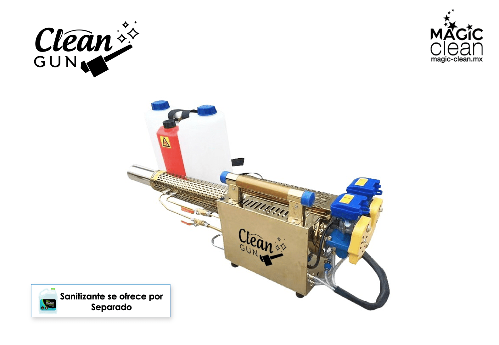 CLEAN GUN - Magic Clean | Productos para COVID | Sanitizantes