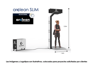 ARCLEAN SLIM - Magic Clean | Productos para COVID | Sanitizantes