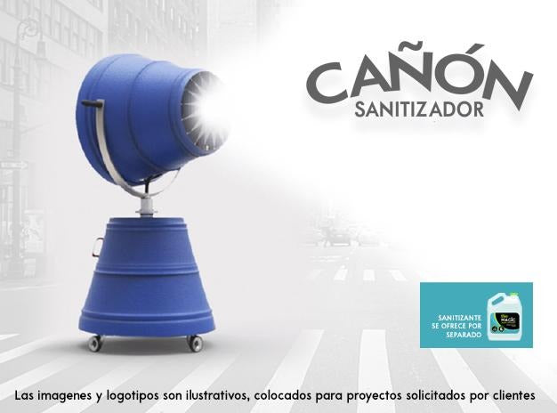 Cañon Sanitizador | Magic Clean - Magic Clean | Productos para COVID | Sanitizantes