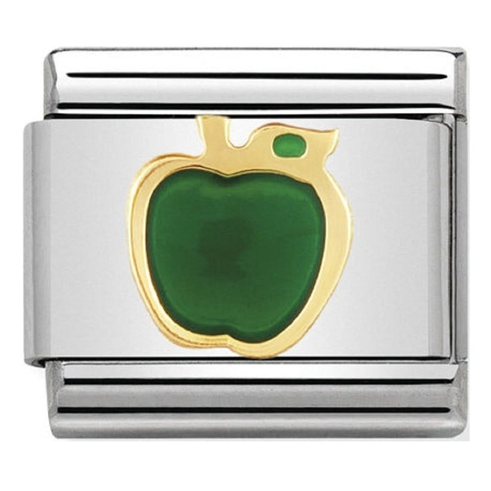 Nomination CLASSIC Green Apple Charm