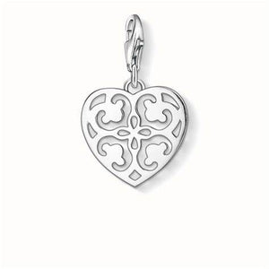 Thomas Sabo Sterling Silver Ornament Heart Charm ref 1054-001-12