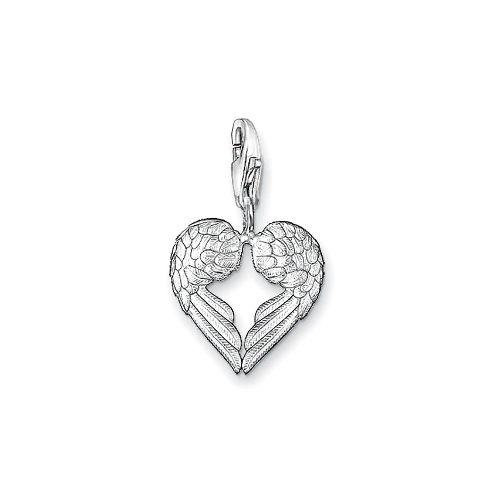 Thomas Sabo Wing Heart Charm ref 0613-001-12