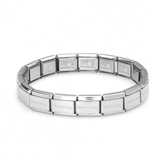 Nomination Classic Stainless Steel Bracelet 18 links