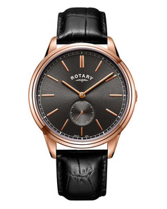 Rotary Cambridge Quartz Rose Gold Watch on Strap ref GS05364/20