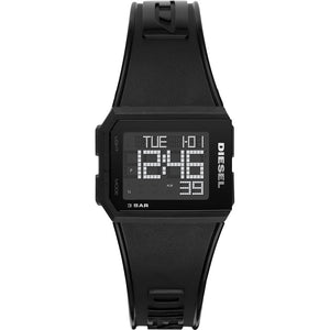 DIESEL Chopped Digital Black Watch DZ1918