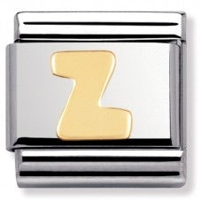 Nomination CLASSIC Plain Letters A to Z Charm