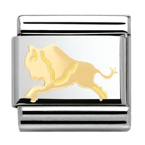 Nomination CLASSIC Gold Buffalo Charm