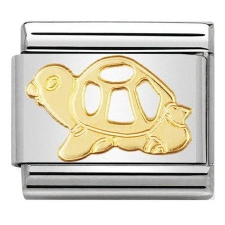 Nomination CLASSIC Gold Tortoise Charm