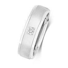 Load image into Gallery viewer, Gent's 9ct White Gold Diamond Set Ring