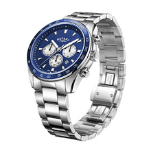 Load image into Gallery viewer, Rotary Blue Henley Gents Chronograph Bracelet Watch