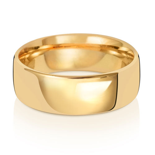7MM Light Court Wedding Ring