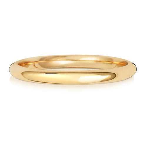 2MM Traditional Court Wedding Ring