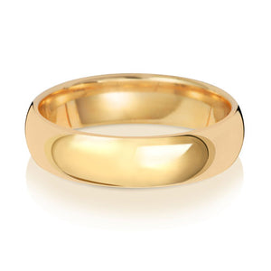 5MM Traditional Wedding Ring