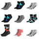 Boomer Silver-Infused Socks, 9 Pairs
