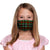 30-Day Adult's Cloth Face Mask with silver nanoparticles, washable and wearable up to 30 times | christmas tartan