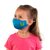 female wearing 30-Day Kid's Cloth Face Mask with silver nanoparticles, washable and wearable up to 30 times | rawr