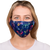female wearing 30-Day Adult Cloth Face Cover , washable and wearable up to 30 times | Mariah