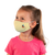 female wearing 30-Day Kid's Cloth Face Mask with silver nanoparticles, washable and wearable up to 30 times | be you