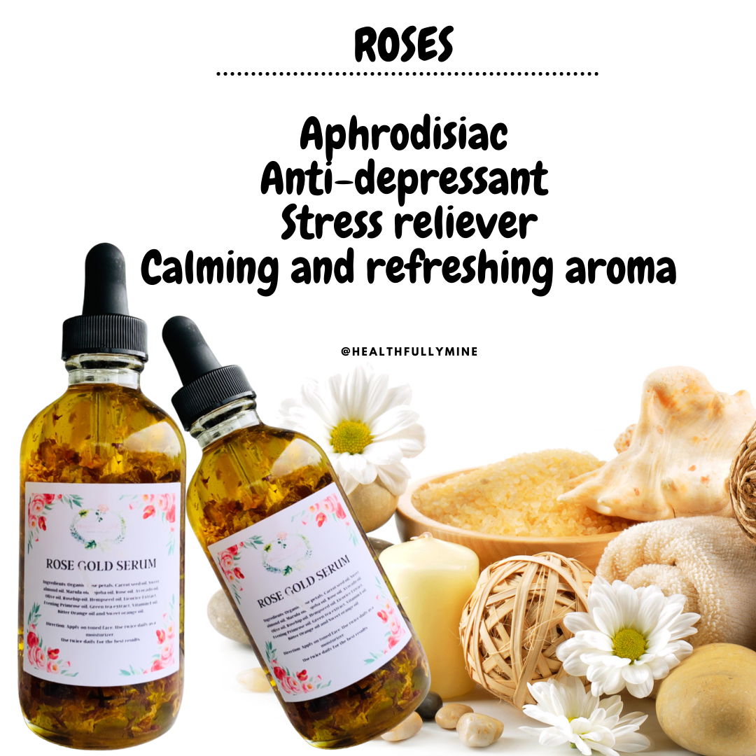 Roses for glowing skin
