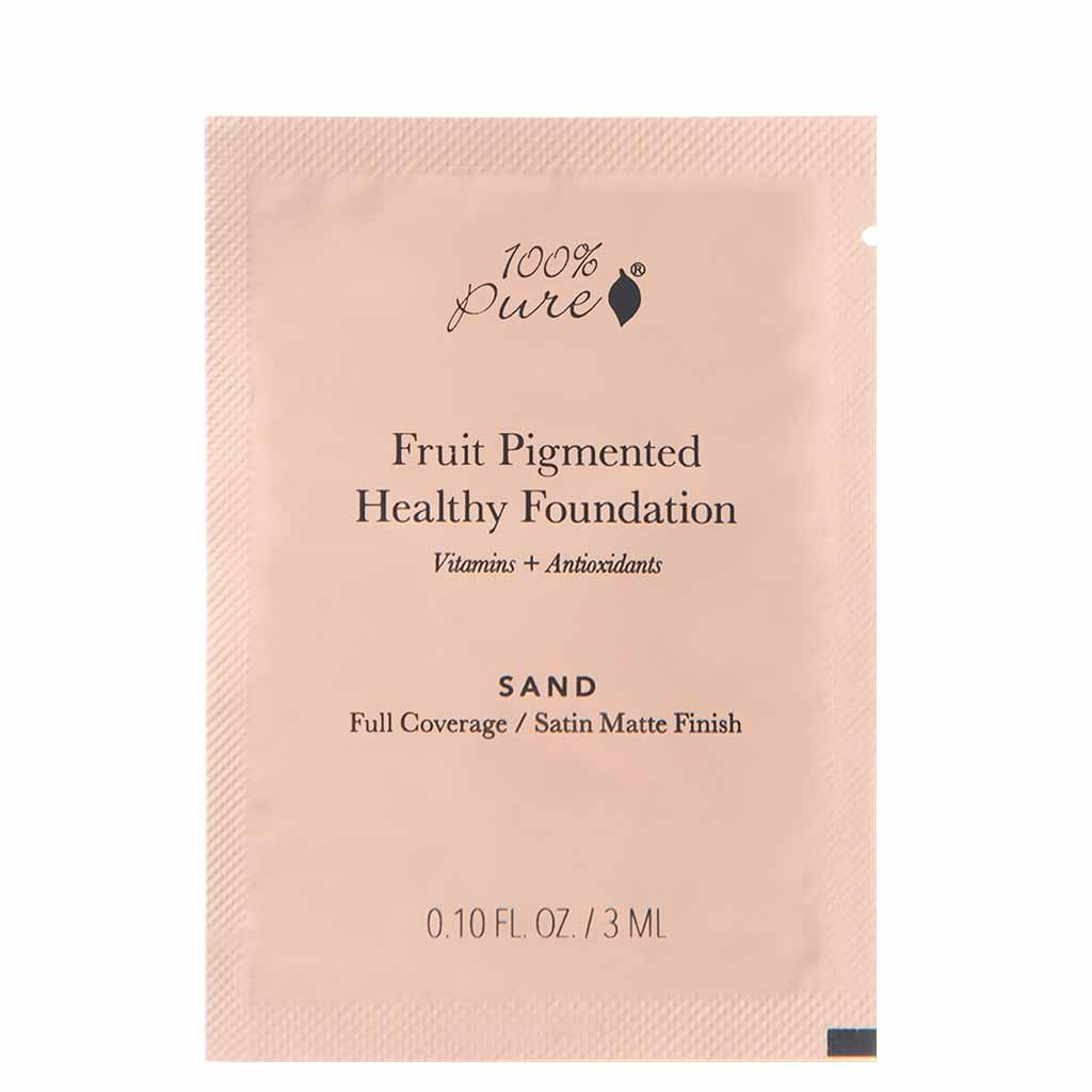 100% Pure Fruit Pigmented Healthy Foundation näytekoko