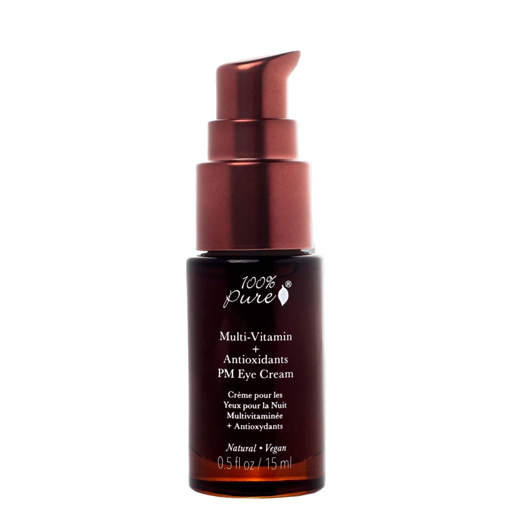100% Pure Multi-Vitamin + Antioxidants PM Eye Treatment