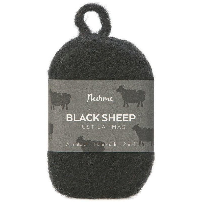 Nurme Black Sheep-Felted Soap - Tervahuopasaippua