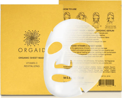 Orgaid Vitamin C sheet mask