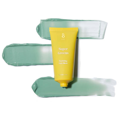 BYBI Beauty Super Greens Purifying Face Mask Puhdistava Kasvonaamio