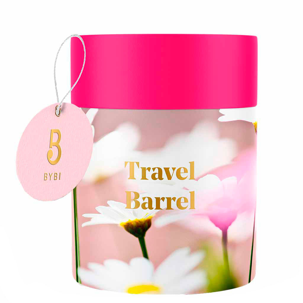 BYBI Beauty Travel Barrel Tuotesetti