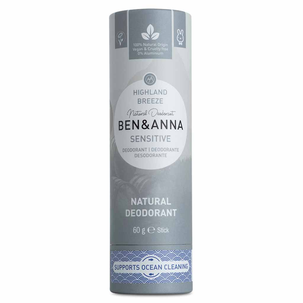 Ben & Anna Deodorantti papertube Highland Breeze Sensitive