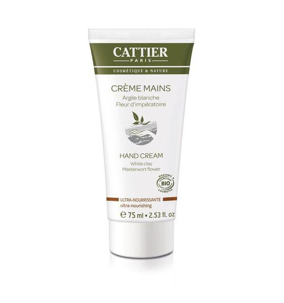 Cattier Paris Ultra Nourishing hand cream - ravitseva käsivoide