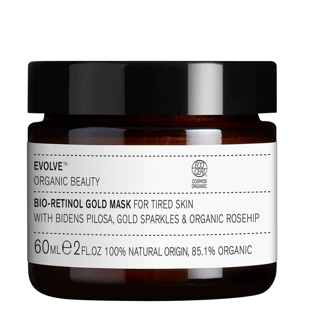 Evolve Organic Beauty Bio-Retinol Gold Mask Kasvonaamio