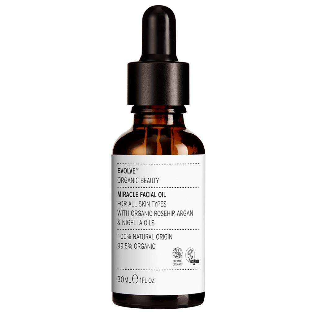 Evolve Organic Beauty Miracle Facial Oil Tuhkimo kasvoöljy