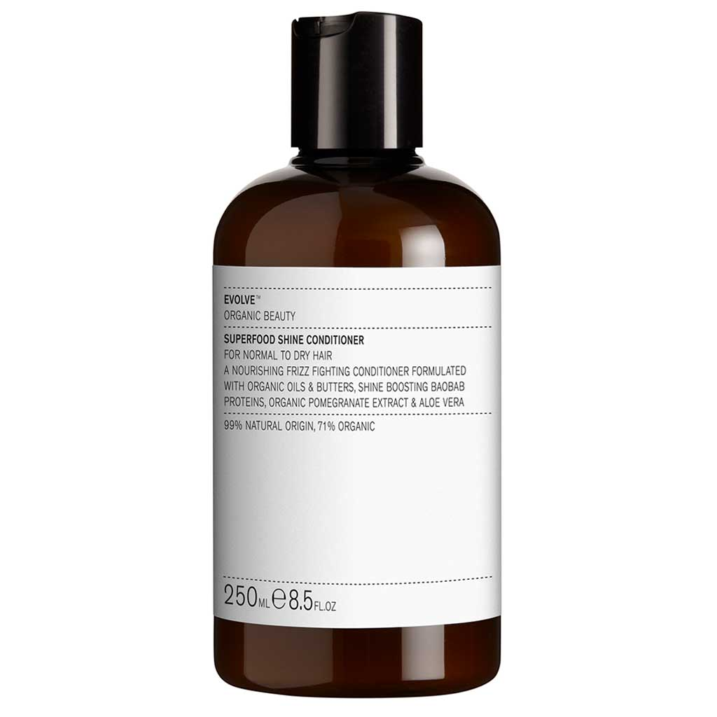 Evolve Organic Beauty Superfood Shine Conditioner Hoitoaine