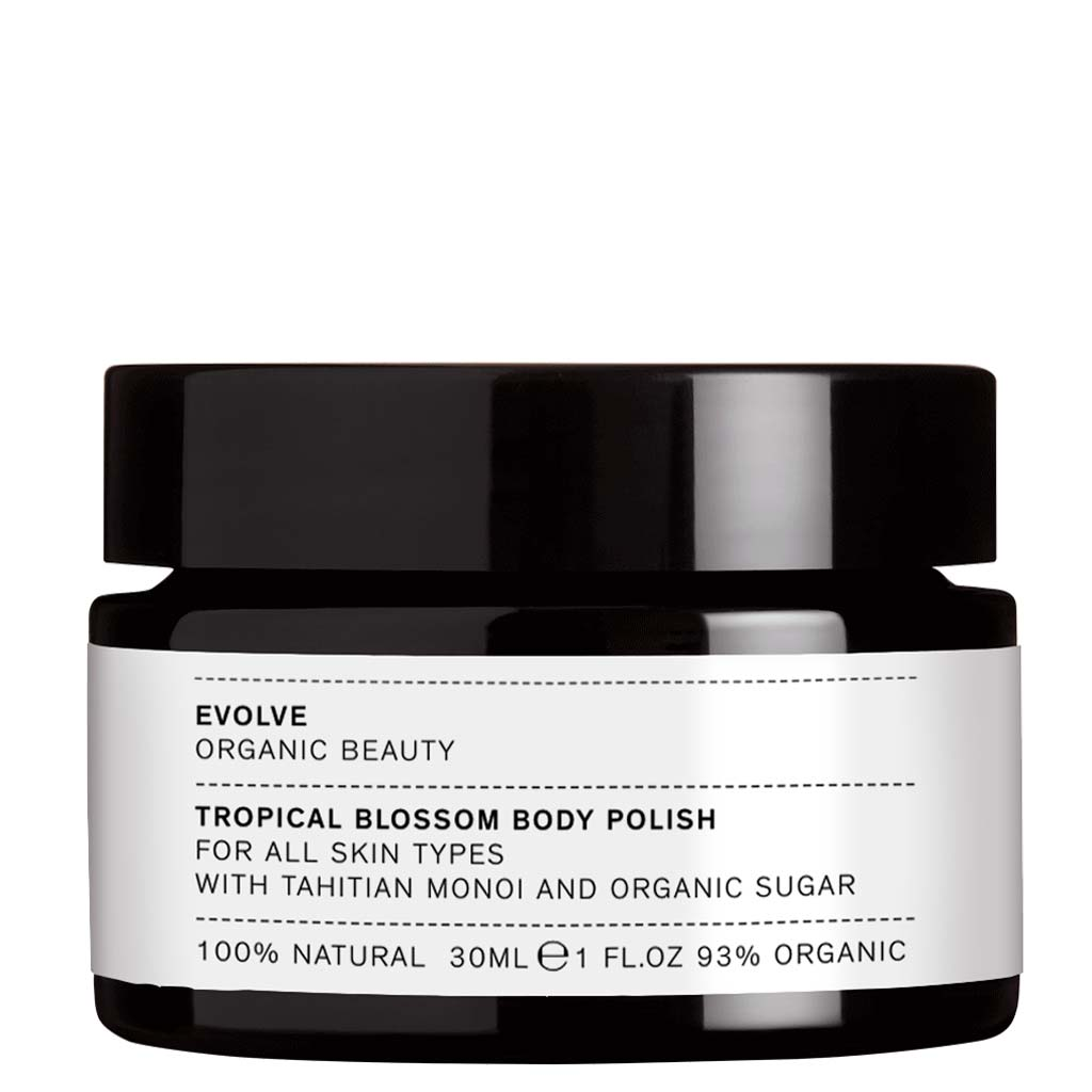 Evolve Tropical Blossom Body Polish - sokerikuorinta vartalolle 30 ml
