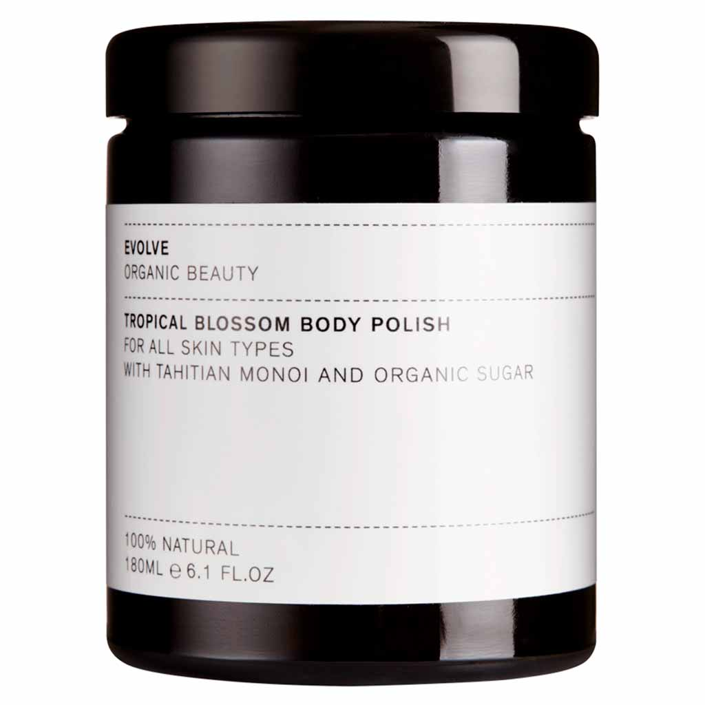 Evolve Tropical Blossom Body Polish - sokerikuorinta vartalolle