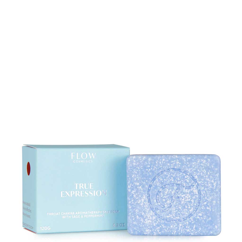 Flow Cosmetics True Expression Aromaterapiasaippua 120 g